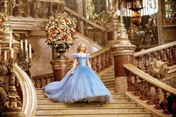 "Lily James plays the title role of ""Cinderella."""