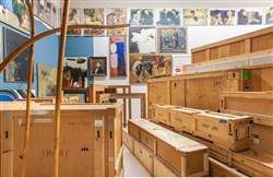 Carnegie Museum of Art staff will examine 130 artworks that have been stored in Heinz Gallery E in Oakland.