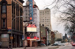 The Garden Theater at North Avenue and Federal Street on the North Side.