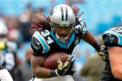 DeAngelo Williams spent nine seasons with the Carolina Panthers.