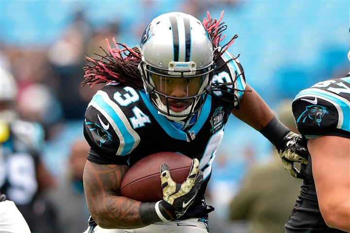 DeAngelo Williams DeAngelo Williams has signed with the Pittsburgh Steelers after nine seasons with the Carolina Panthers.