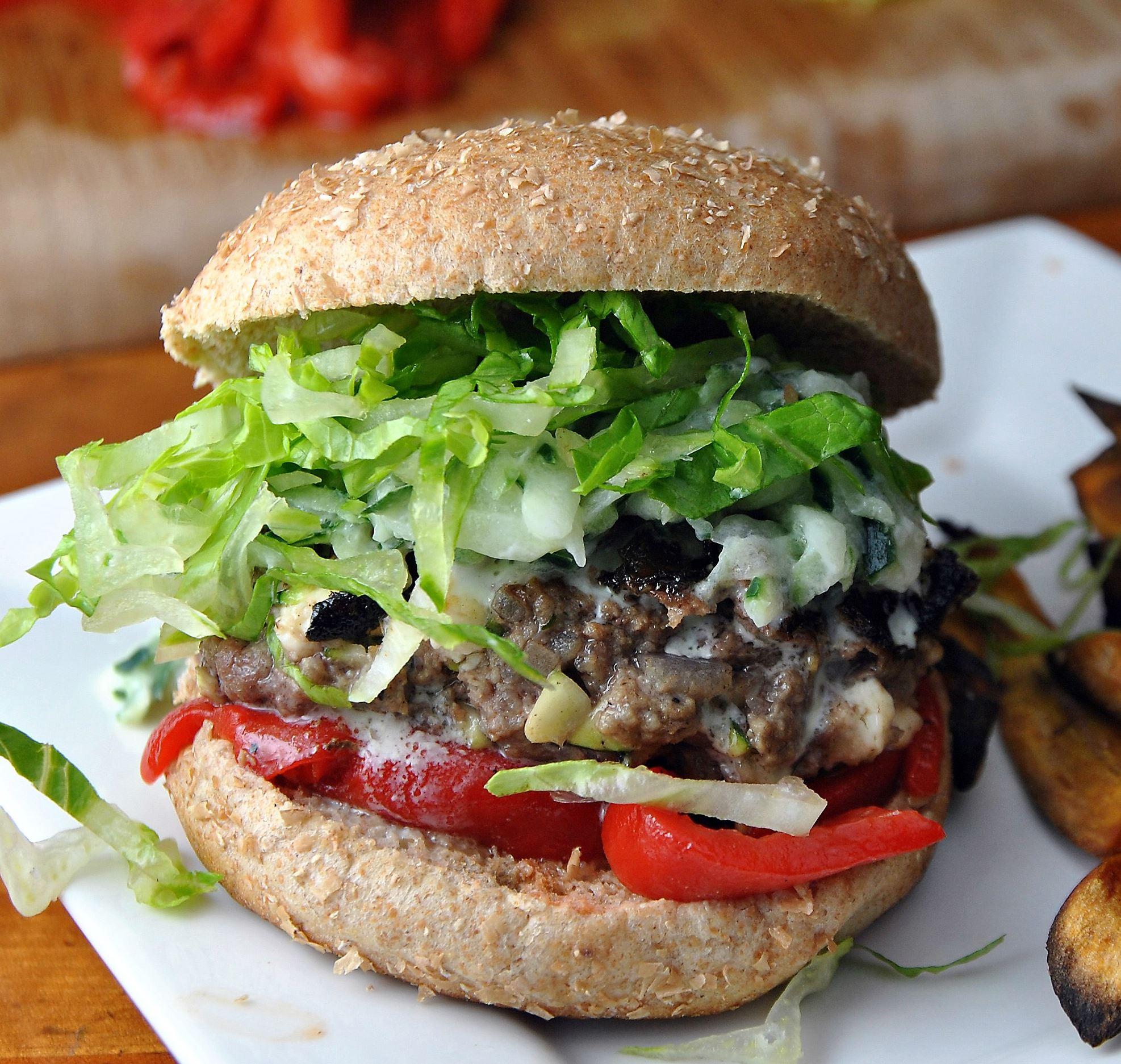 Marathon Ready: Greek Feta Burgers | Pittsburgh Post-Gazette