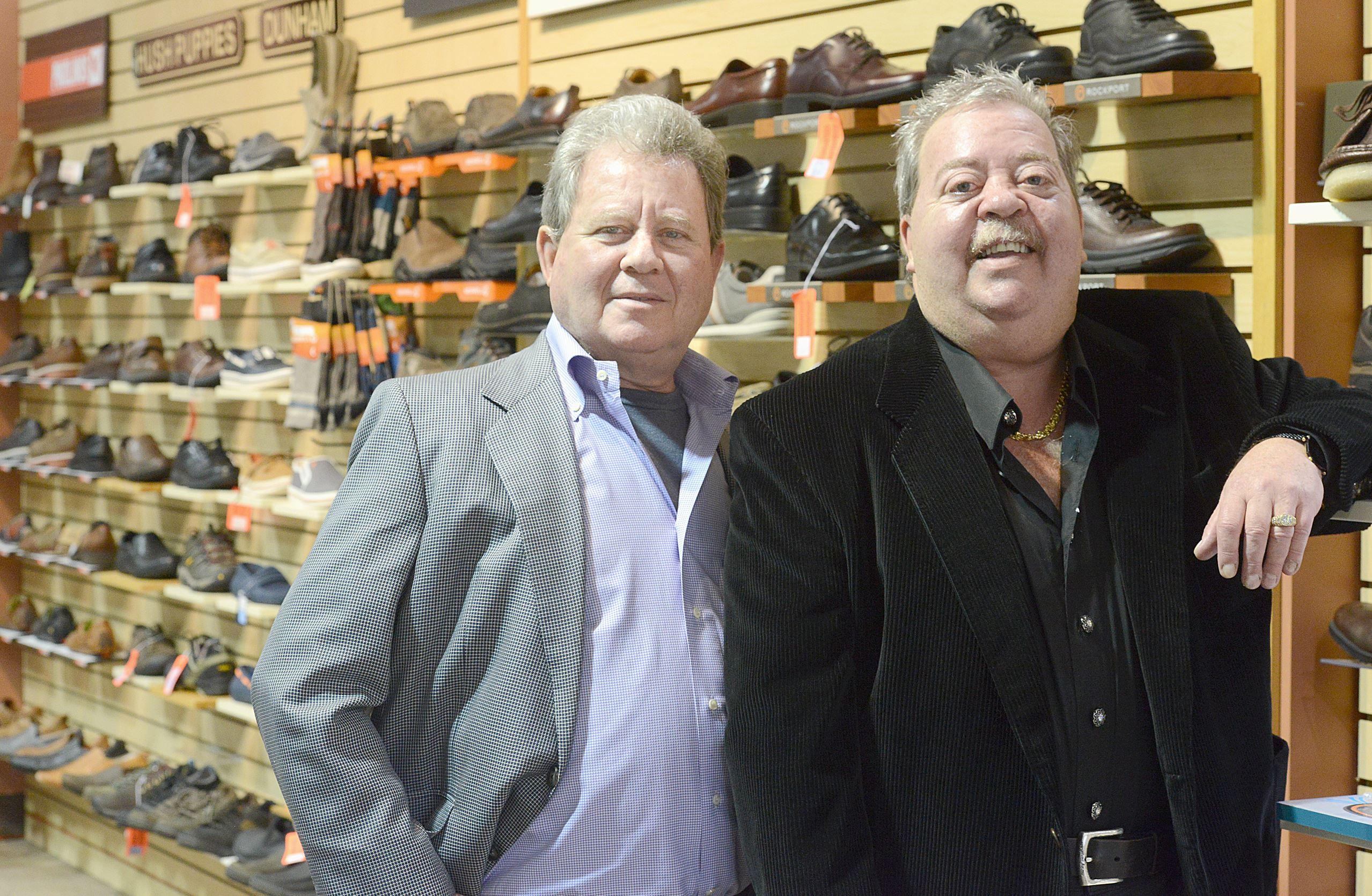 Reyers Shoes in Sharon From left, Steven and Mark Jubelirer preside