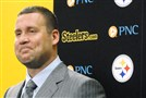Ben Roethlisberger Friday after signing a new five-year contract through the 2019 season with the Steelers.