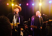 Dave and Phil Alvin perform at Club Cafe Thursday night.
