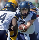 One of the biggest questions facing West Virginia is whether Skyler Howard (3) can step in to replace senior Clint Trickett at quarterback.