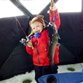 Jonny Lyons, 4, of Monaca caught this 4-pound channel cat around 4 p.m. on 4-pound test line at Lake Arthur.