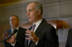 U.S. Sen. Bob Casey, shown here in March, said lessons should be learned from the Ebola scare last fall.