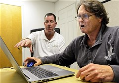 Former NFL running back William Ward Walsh, 66, takes the web-based, game-styled brain health test developed by RC21X, supervised by Mike Schuler. The test results will be used to evaluate Walsh's status for the NFL concussion lawsuit. Walsh played for the Packers and Oilers.