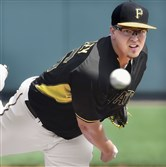 Pirates pitcher Vance Worley delivers against the Orioles at McKechnie Field in Bradenton, Fla.