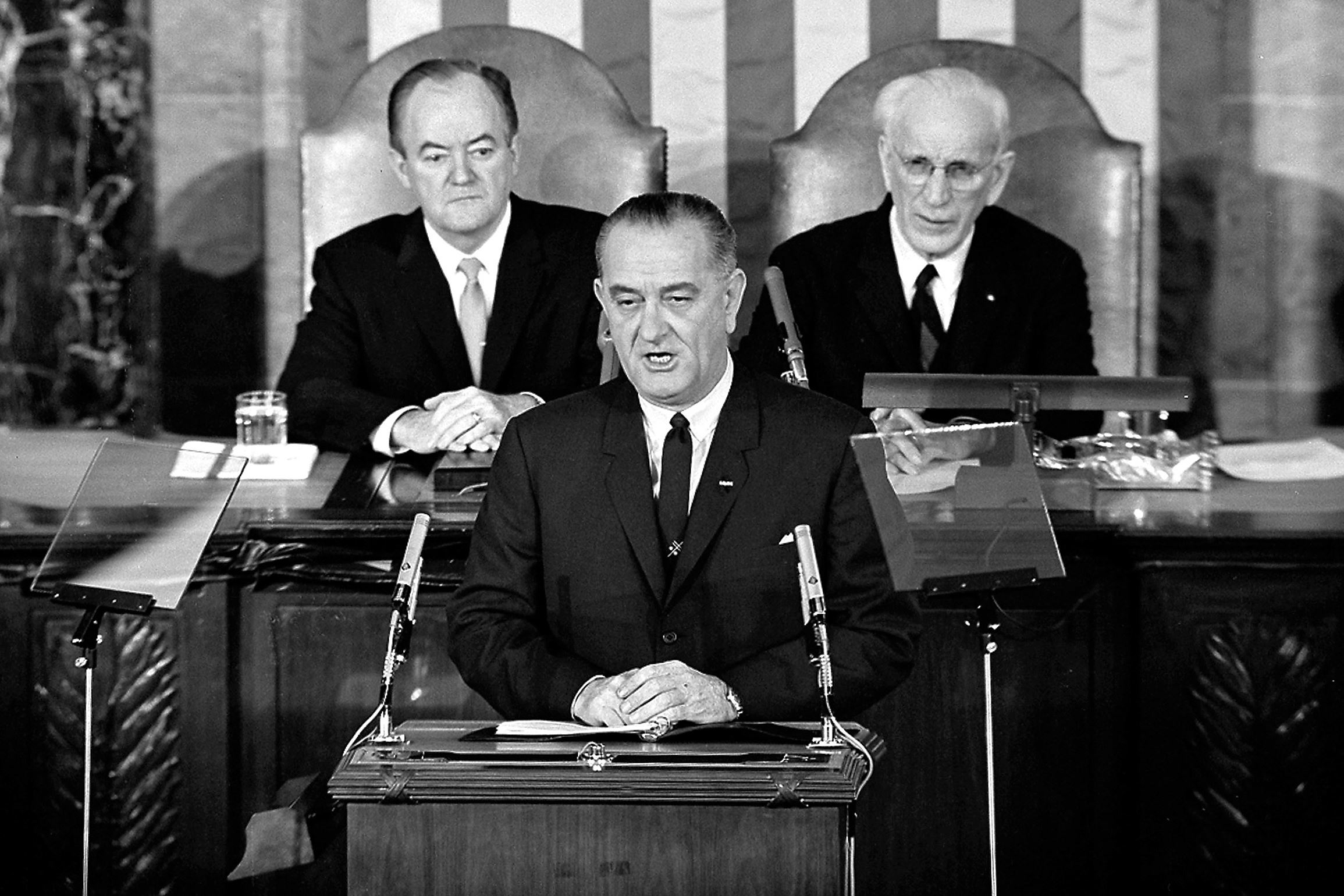 A great speech turns 50: LBJ's eloquent call for voting rights came together quickly