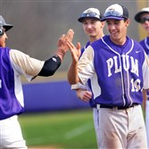 In their fi­nal two games of Plum's south­ern trip, Alex Kiriloff (19) picked up five hits against two pitch­ers clock­ing in at 90 and 92 mph.