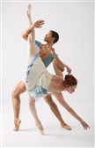 Alan Obuzor and Kelsey Bartman of Texture Contemporary Ballet.