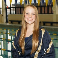 Kathryn Painter a Norwin swimming is this week's female athlete of the week.