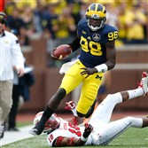 Devin Gardner as a quarterback at Michigan.