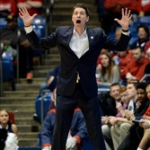 Andy Toole and Robert Morris beat North Florida in the NCAA Tournament this season.