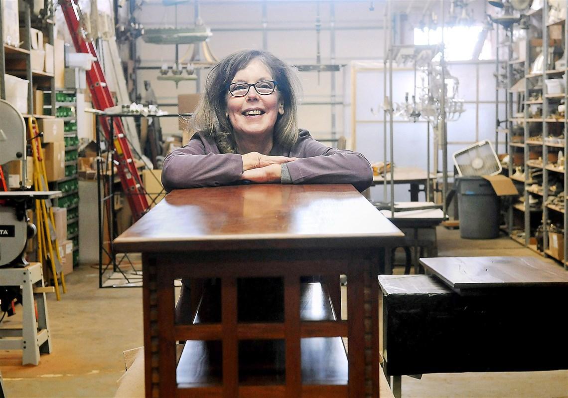 As a furniture maker, Kate Joyce bucked long odds | Pittsburgh ...