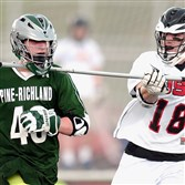 Pine-Richland attacker Jeremy Kennedy will play college lacrosse at Saint Vin­cent.