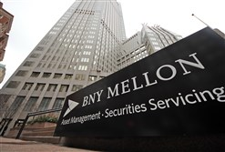 New York-based BNY Mellon earned $822 million in the final quarter of last year, up 29 percent from the same quarter a year earlier.