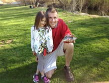 Last year, Lily Jester, now 6, of Moon used her pink Barbie fishing pole to land her first two trout at Montour Run with a little help from her dad, Jason Jester.