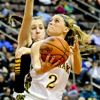 Chassidy Omogrosso led Blackhawk to a PIAA Class AAA championship Saturday against Archbishop Wood.