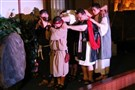 "A scene from United Methodist Church's Passion Play entitled, ""The Last Days of Christ."""