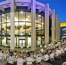 A diner en blanc event being held in 2012 in Montreal at Place des Art. Pittsburgh will be the setting for one these dinners this summer.