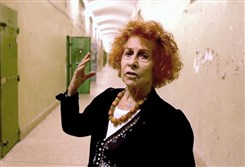 "Holocaust survivor Marceline Loridan-Ivens  returned in 2014 to Sainte-Anne Prison in Avignon, France, for a short film by Frederique Berthet called ""Marceline Loridan-Ivens Tells the Story of Her Time in the Sainte-Anne Prison Before Her Deportation to Auschwitz."""