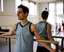 "Justin Peck in ""Ballet 422."""