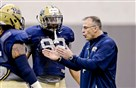 Pitt football coach Pat Narduzzi, seen here in spring practice earlier this year, already is building a strong recruiting class for 2016.