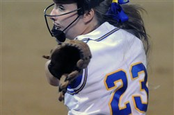 Senior Tara Fowler returns as the ace of the Canon-McMillan pitching staff.