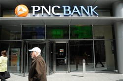 PNC Financial Services is headquartered in Pittsburgh at One PNC Place and has multiple bank and service locations throughout the city.
