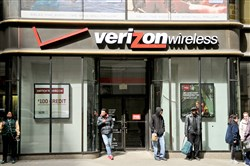 One of Verizon Communications' Pittsburgh stores.
