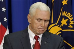 Indiana Gov. Mike Pence explains that he wants legislation to clarify that the state's new religious-freedom law does not allow discrimination.