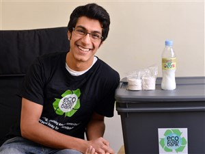 While a student at the University of Pittsburgh, Samir Lakhani, created the Eco-Soap Bank. It partners with hotels in Southeast Asia to recycle bar soap, which is then given to people in Cambodia and Nepal. The program has also been expanded to Rwanda.