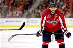 Egg on the face, with a side of crow to eat, please: Alex Ovechkin of the Washington Capitals is the latest in a long line of athletes to make premature guarantees of victory.