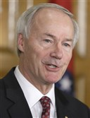 Arkansas Gov. Asa Hutchinson balks on a religious-objections bill, prompting legislative action.