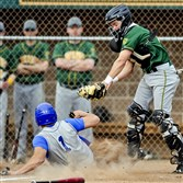 Penn-Trafford catcher Scott Koscho, a Naval Academy commit, will be looked upon for senior leadership this season by the Warriors. Hempfield's Joey DeFloria slides safely into home in a game last season.
