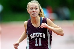 Beaver Area's Ruthe Neeley  has battled back from a torn ACL injury as she tries to defend her WPIAL Class AA title in the 400-meter run.