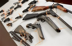 Of all guns that Pittsburgh police recovered during crime investigations and patrols in 2008, nearly 80 percent were in the possession of unlawful owners.