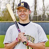 Stud pitcher Trent Vietmeier of Montour has yet to be scored on in high school baseball.