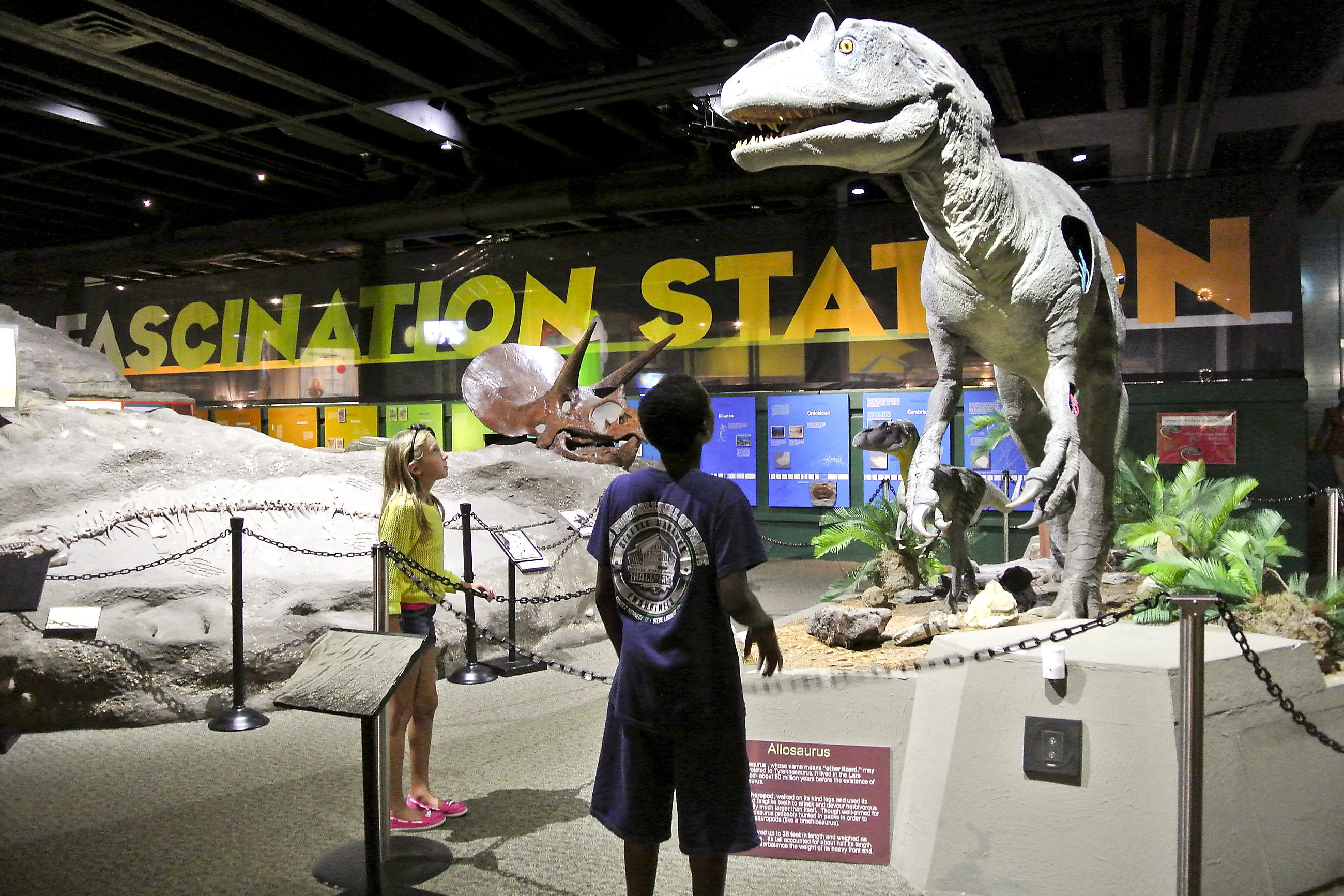 Much more to visit in canton than the pro football hall of Dinosaur museum ohio