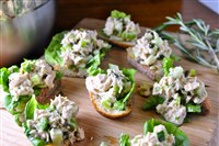 Rosemary Caper Tuna Salad.