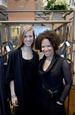Fashion designer Kiya Tomlin, right, with assistant Brittany Meyer inside Ms. Tomlin's boutique in East Liberty. She will discuss the business of fashion and launching a brand at FGI Pittsburgh provisional chapter's Style+Tech Talk event on Friday.