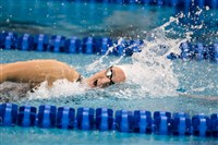 Oakland Catholic alum and Virginia sophomore Leah Smith competes at the NCAA championships March 21 where she won the 500-yard freestyle and 1,650-yard freestyle. The Mount Lebanon native will hope to qualify for the 2016 Summer Olympics next year.