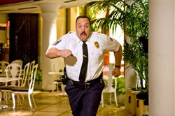 "Kevin James returns in the sequel ""Paul Blart: Mall Cop 2."""