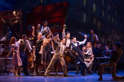 "Robert Fairchild, center, Brandon Uranowitz and Max von Essen star in ""An American in Paris"" on Broadway.  Pittsburgh CLO's Van Kaplan is a lead producer for the show, based on the 1951 movies that won an Academy Award for Best Picture."