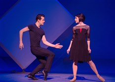 "Robert Fairchild and Leanne Cope in ""An American in Paris."""
