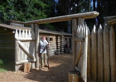 The Lewis and Clark expedition spent the winter of 1805-06 at Fort Clatsop near Astoria, Oregon.