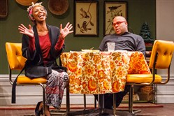 "Sharon Washington and Kevin R. Free in ""Dot"" at the Humana Festival of New American Plays in Lexington, Ky."